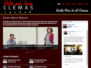 thumbnail image from Clemas Music website for gallery purpose